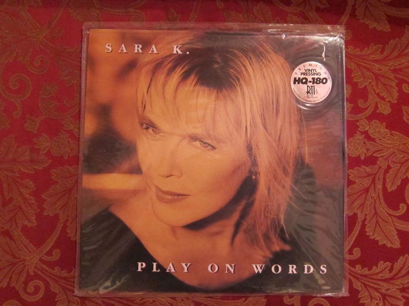 SARA K. - PLAY ON WORDS 180gr HQ Vinyl  SEALED
