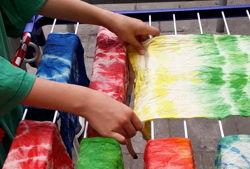 klax kreativwerkstatt batik