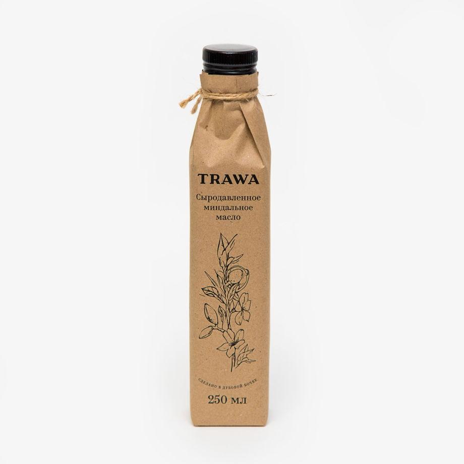 Сыродавленное миндальное масло TRAWA, 250 мл