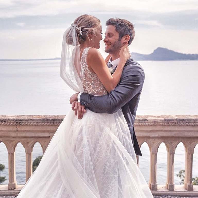 Elizabeth Grace couture wedding