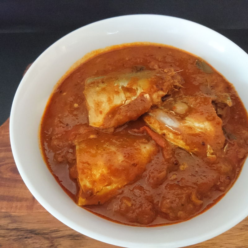 Date: 25 Nov 2019 (Mon) 15th Side: Kari Kepala Ikan (Fish Head Curry) [117] [119.5%] [Score: 8.5]
