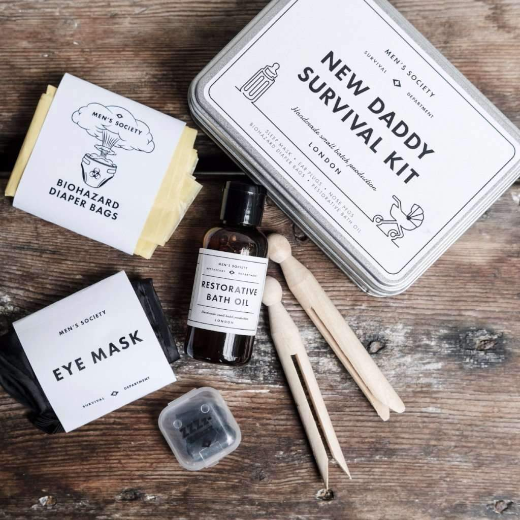 New Daddy Survival Kit | Gifts For New Dads