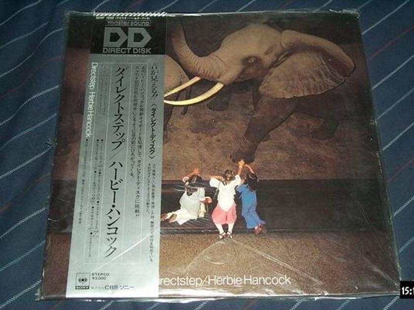 Herbie Hancock - Mastersound LP Japan directstep sony direct disc nm
