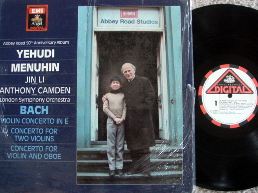 Emi Angel Digital / MENUHIN-LI, - Bach Violin Conertos,  MINT!