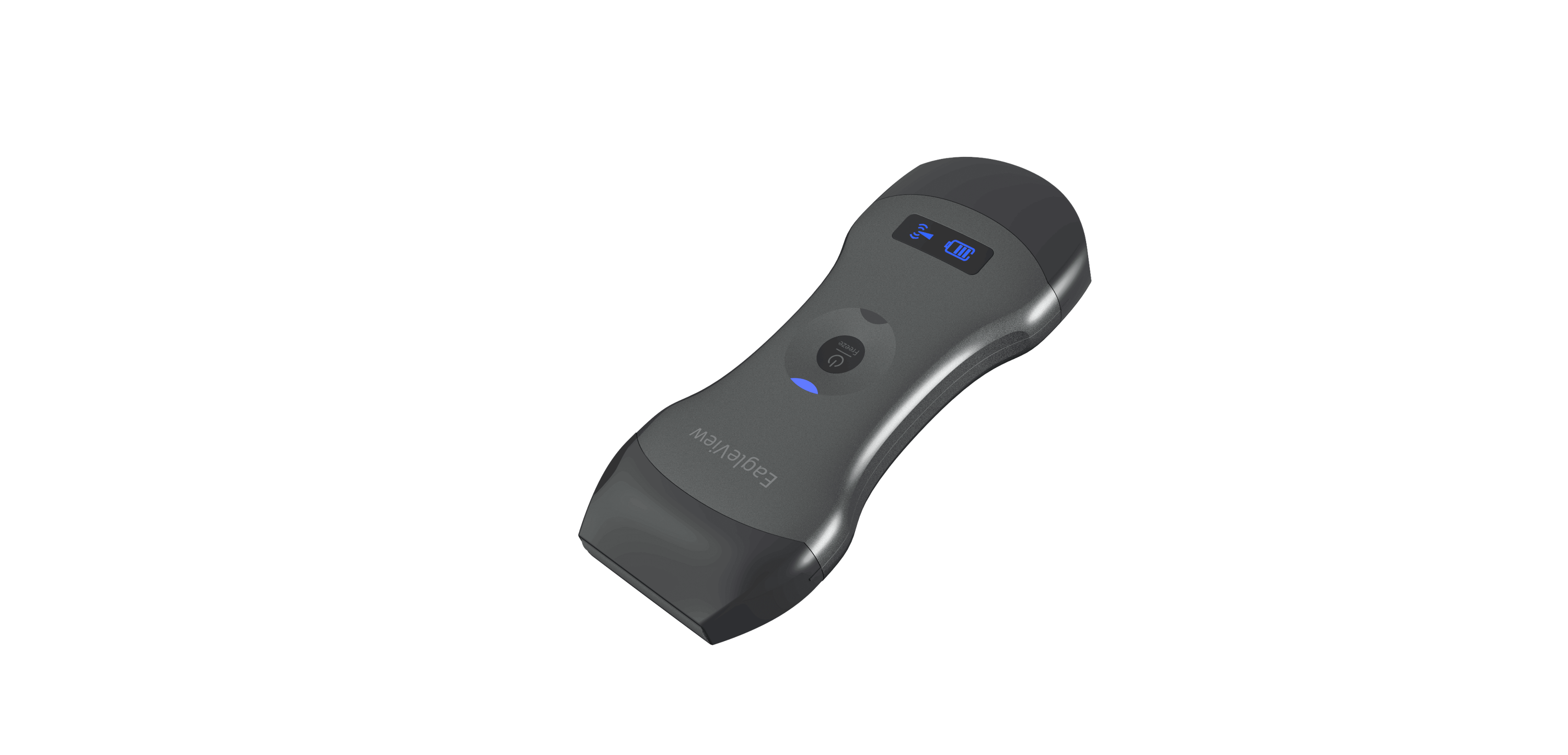 Eagleview dual-head wireless handheld ultrasound scanner.