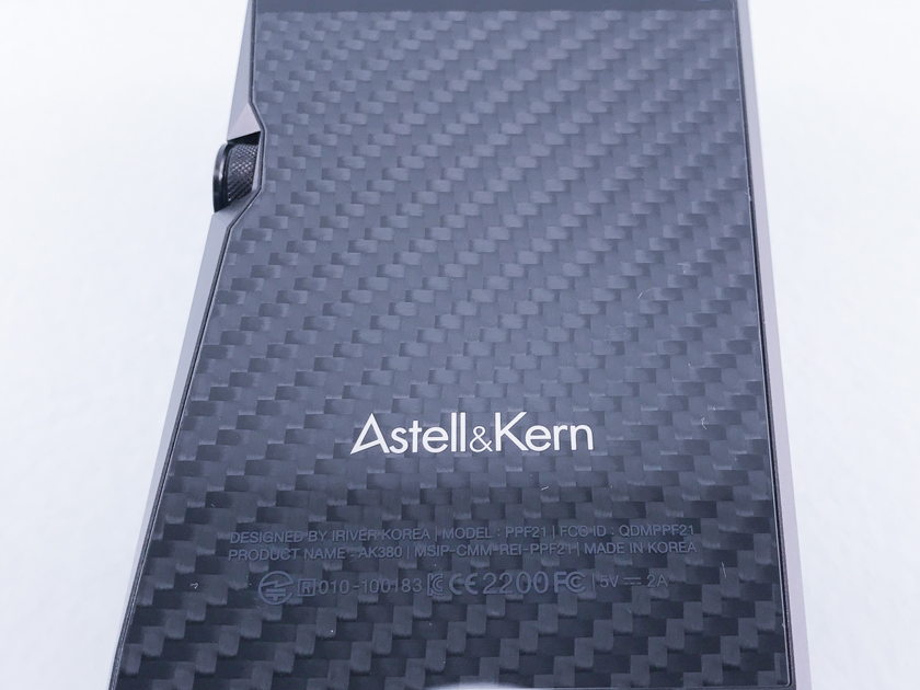 Astell & Kern AK380 High Resolution Portable Music Player