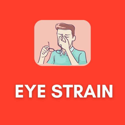 eye strain ergonomic computer monitor advice