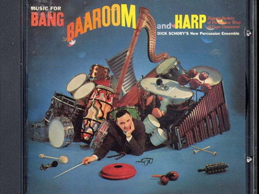 Dick Schory - Music for BANG, BAAROOM and HARP  Classic Records LSPCD 1866 gold CD