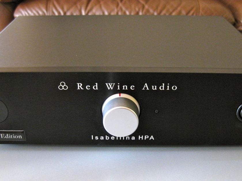 "Red Wine Audio Isabellina HPA (LFP-V). 24 bit ""Pro"" DAC. Balanced headphone stage"