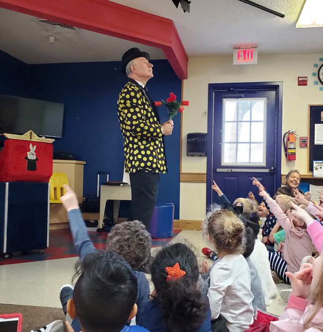 magic show at Primrose