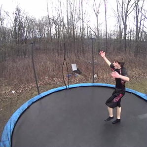 a482707f5391 How to Double Backflip on a Trampoline. Flips tricks