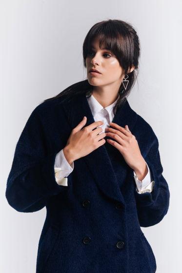 Зимнее длинное пальто