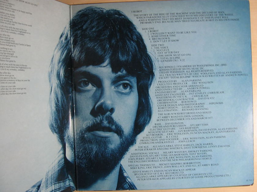 The Alan Parsons Project -  I Robot  - Arista ‎AL8-8040