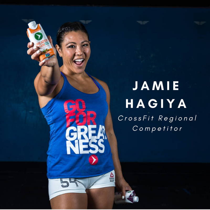 Jamie Hagiya Crossfit Regional Competitor