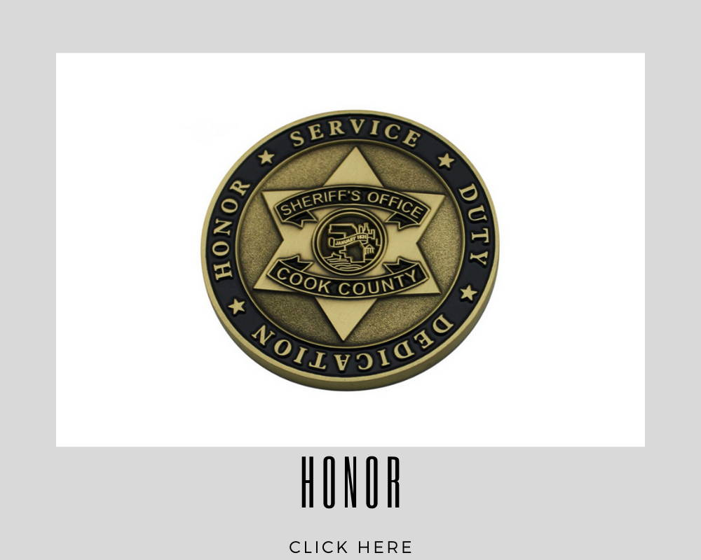 Corporate Honor Challenge Coins