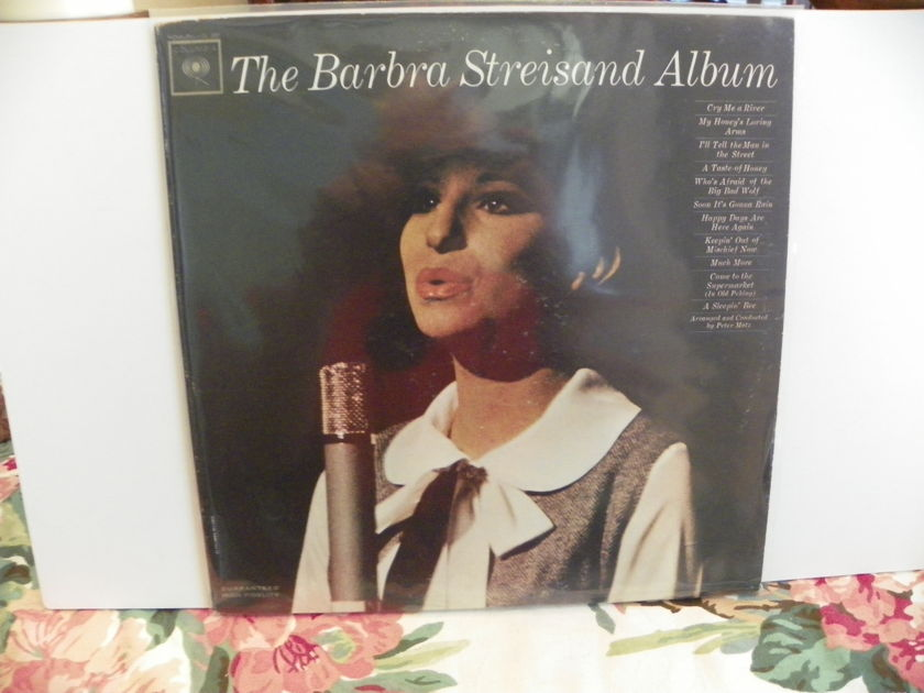BARBRA STREISAND - THE BARBRA STEISAND ALBUM