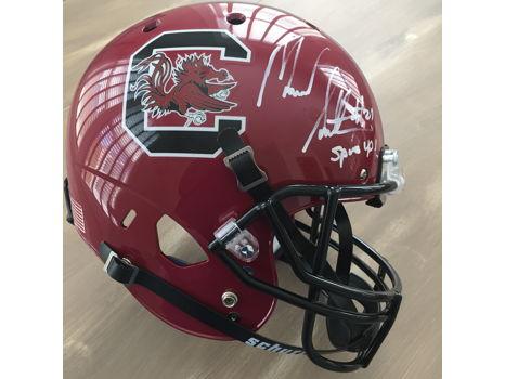 Marcus Lattimore Autographed South Carolina Helmet