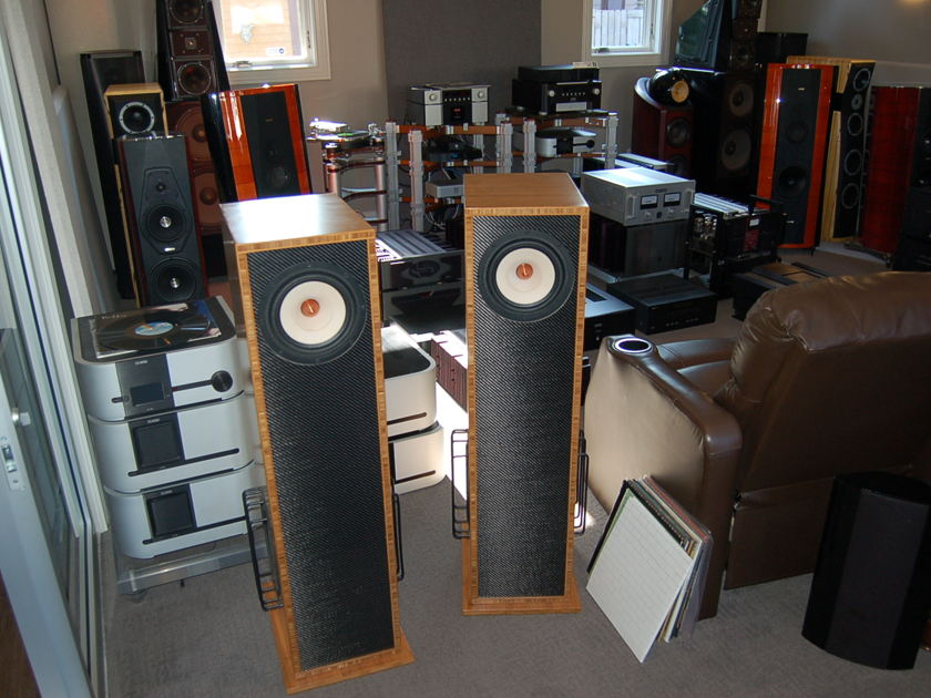 Vaughn Loudspeakers Barbera  Speakers - best sound for the money --