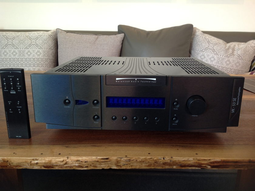 Balanced Audio Vk- 53se  Pre amp