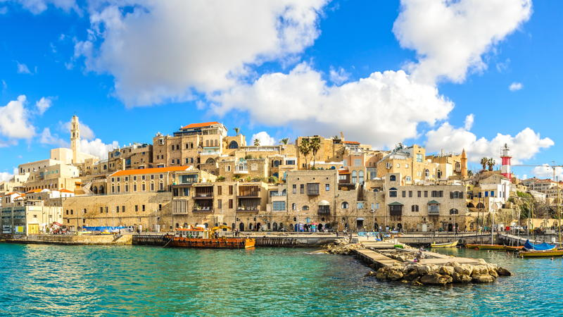 Jaffa old city and sea port, Israel