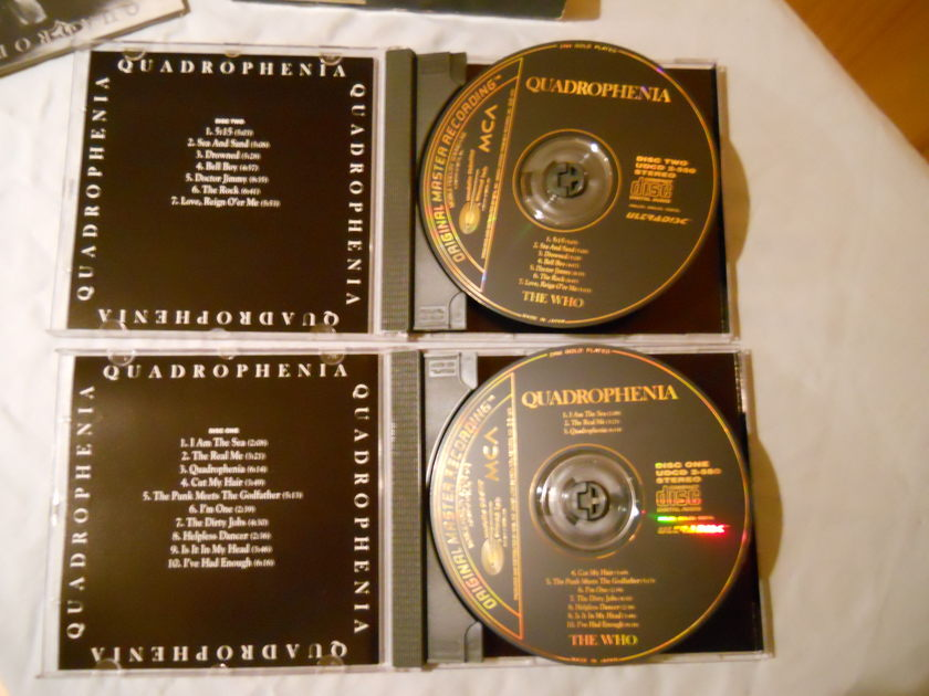 The Who - Quadrophenia MFSL Ultradisc Gold CD UDCD 2-550