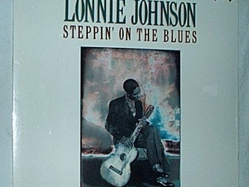Lonnie Johnson Lp- - Steppin on the blues -superb sealed blues album