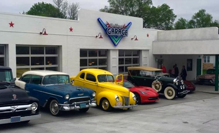 Pie Trek and the Classic Garage