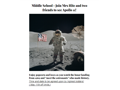 Middle School- Apollo 11 with Mrs Hite