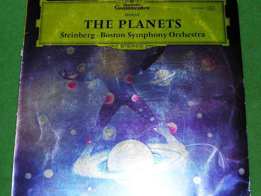 "BOSTON SYMPHONY ORCHESTRA  ""THE PLANETS"" - 1971 DEUTSCHE GRAMMOPHON ***  NM 9/10  ***"
