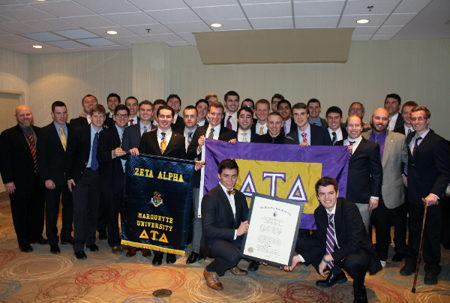 Zeta Alpha Chapter Installed at Marquette University