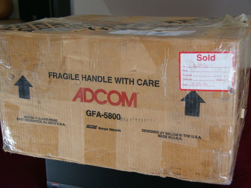 ADCOM GFA 5800