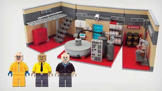 Breaking Bad Superlab LEGO Set