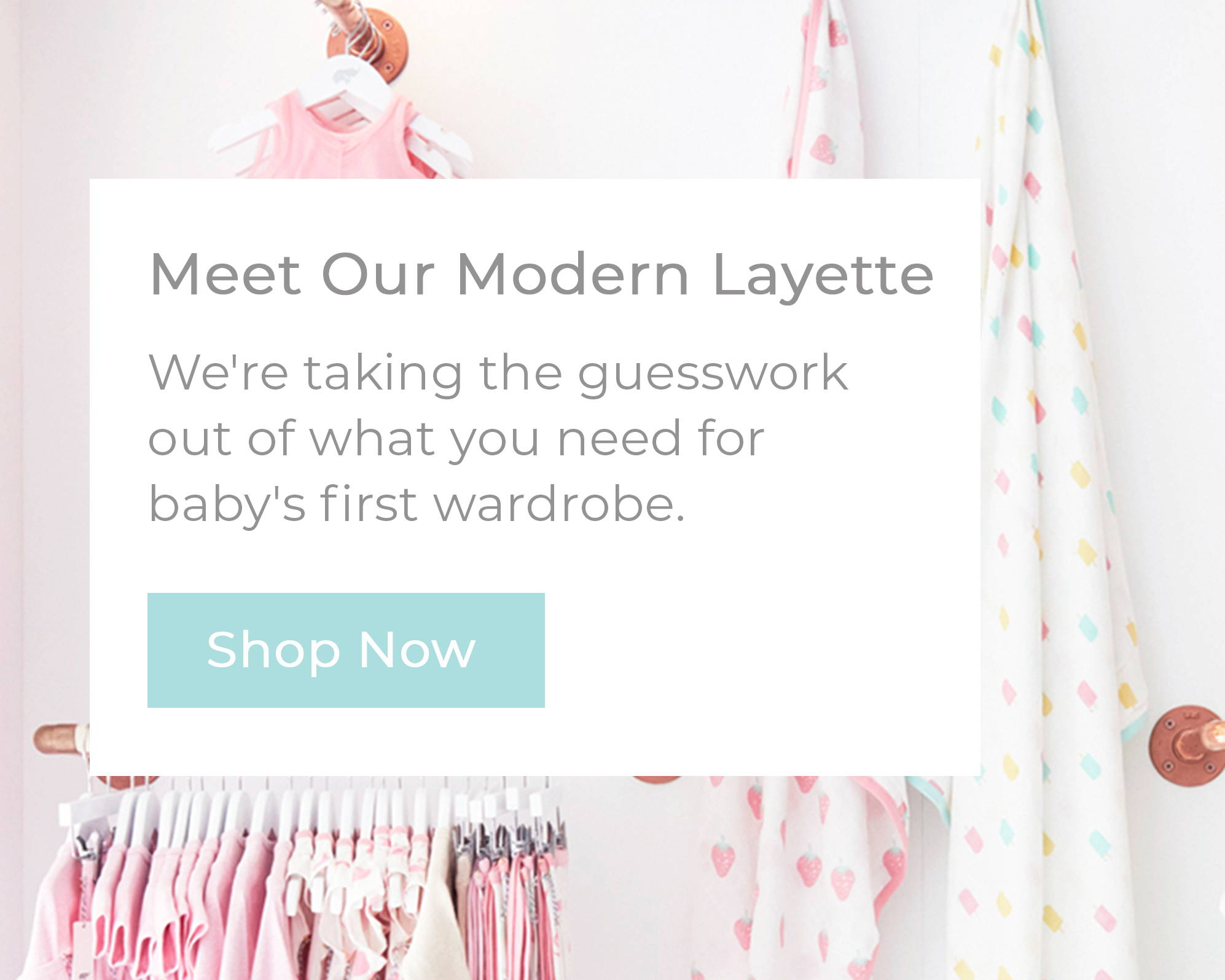 Layette newborn clothing essentials monica andy