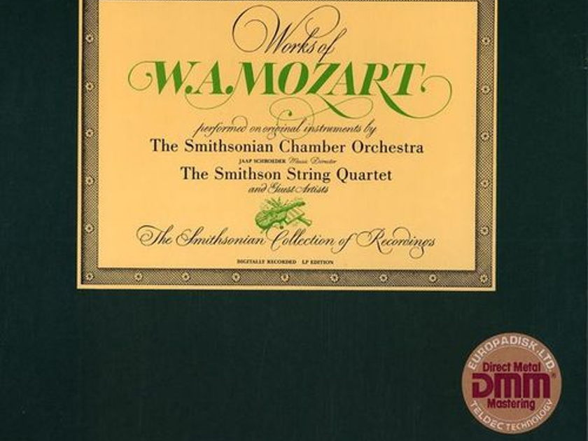 Sealed/Smithsonian Chamber Orchestra/Works - of Mozart / 6-LP Box Set