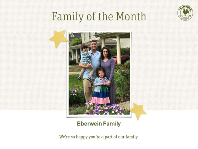 Primrose family of month - May month
