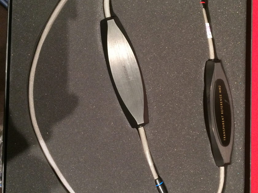 Transparent Audio Reference MM2 (SRMM) 60' pair RCA interconnect