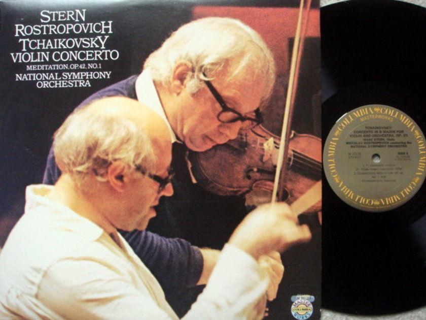 CBS / STERN-ROSTROPOVITCH, - Tchaikovsky Violin Concerto, MINT!