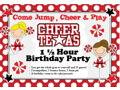 Cheer Texas Birthday Party