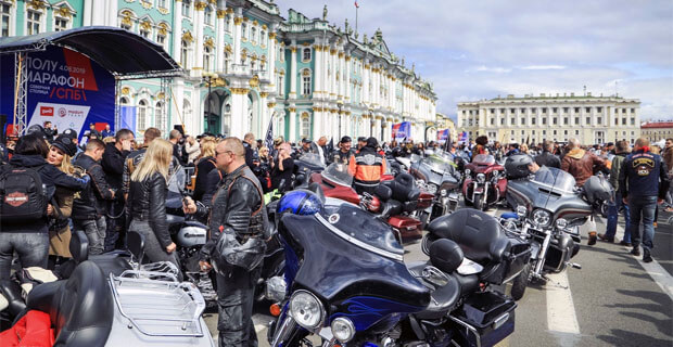 При поддержке «Авторадио-Санкт-Петербург» состоялся St.Petersburg Harley®Days - Новости радио OnAir.ru