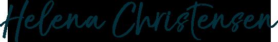 Helena Christensen signature