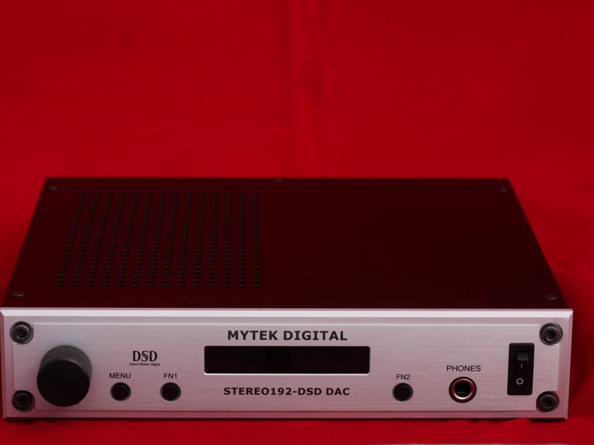 Mytek Digital Stereo 192 DAC silver preamp version