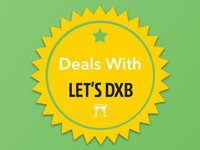 50% Off Dinner Bill (Up to 5 People) with Lets DXB image