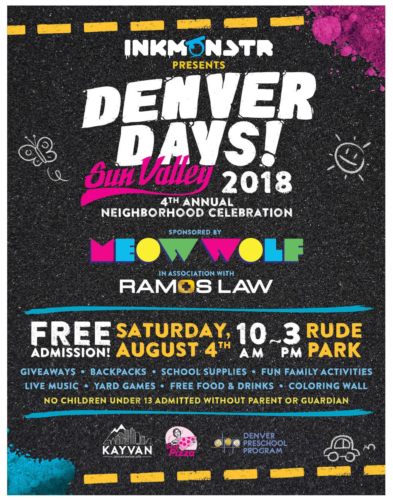 Denver Days Flyer - 2018