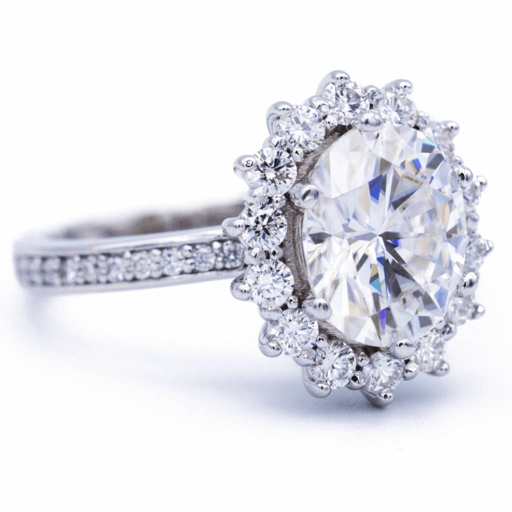 Moissanite Ring Designs – FIRE & BRILLIANCE