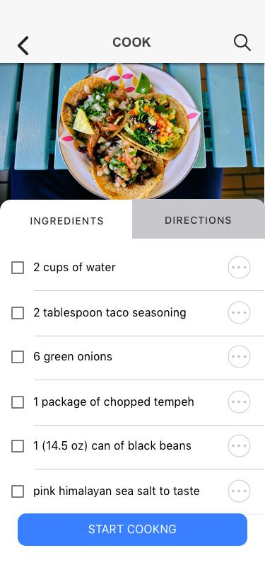 Recipe details