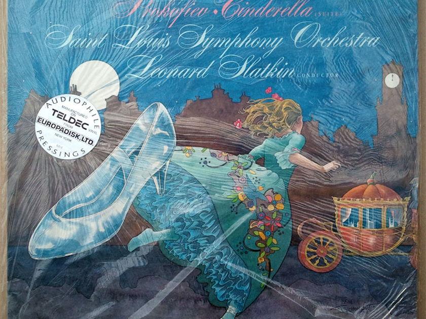 Sealed/RCA Digital/Slatkin/Prokofiev - Cinderella / Audiophile Teldec vinyl