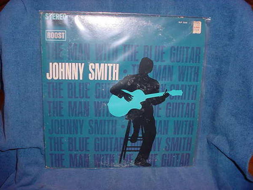 Johnny Smith - Man w/Blue Guitar roost slp-2248 stereo lp