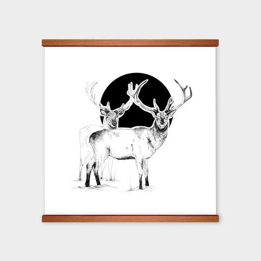 Постер «Black Deer Empire II» от Oh So Me (серия Home)