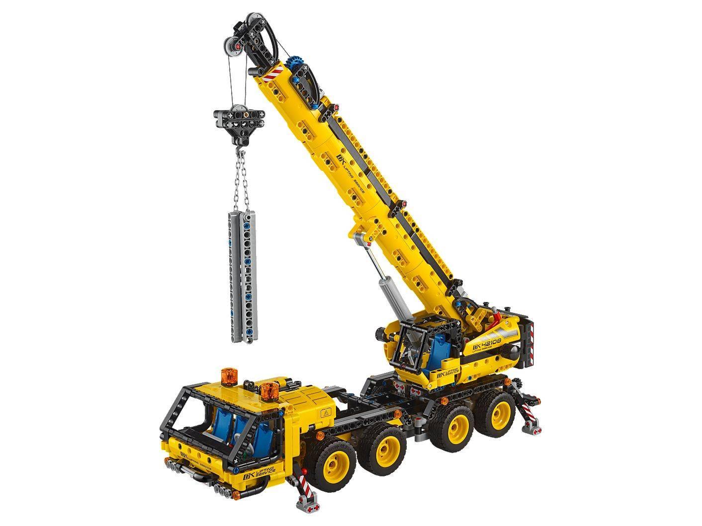 lego 42108 crane size