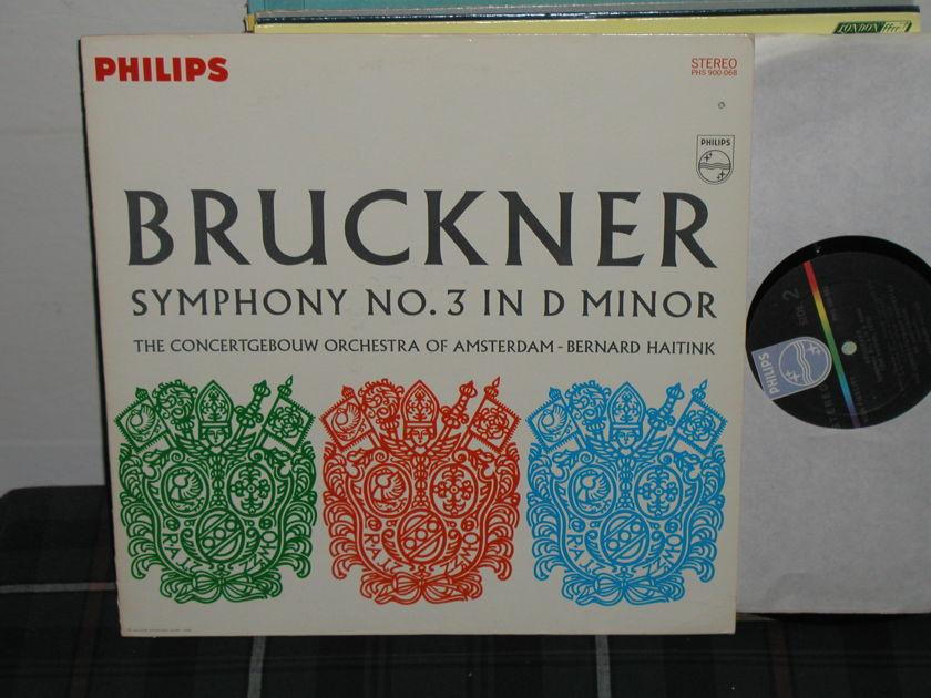 Haitink/COA - Bruckner Sym .No 3 Philips phs-900-068
